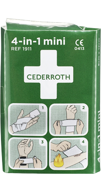 Cederroth 4-in-1 mini ensiapuside