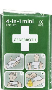 Cederroth 4-in-1 mini ensiapuside
