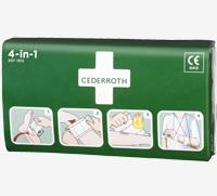 Cederroth 4-in-1 iso ensiapuside